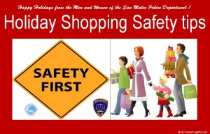 Holiday Safety Tips SMPD