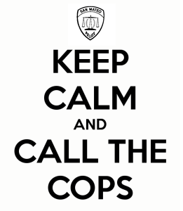SMPD Keep Calm and Call the Cops