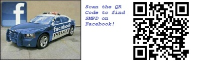Scan the QR with your mobile Device to Visit SMPD on Facebook!