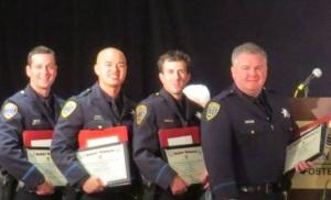 Lions Valor Award Reccipients