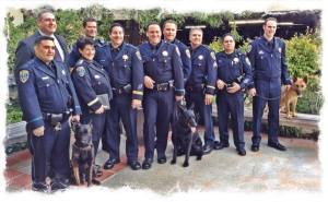 SMPD k9s and staff