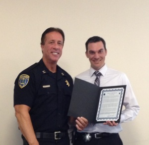 Congratulations to Detective Dave Manion