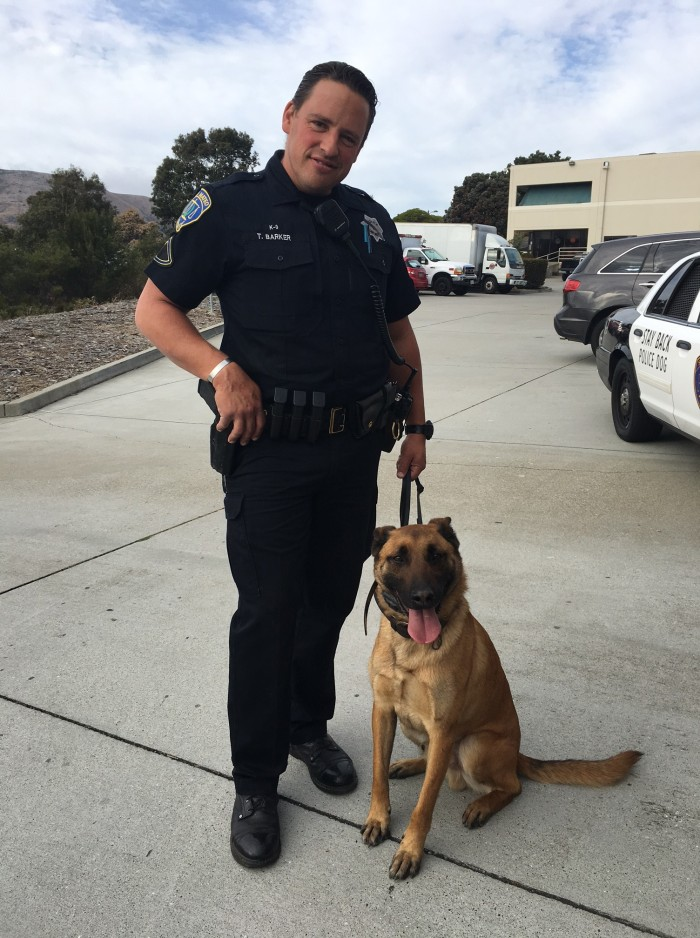 Our Newest San Mateo Police Member- K9 Zigi- is Off to a